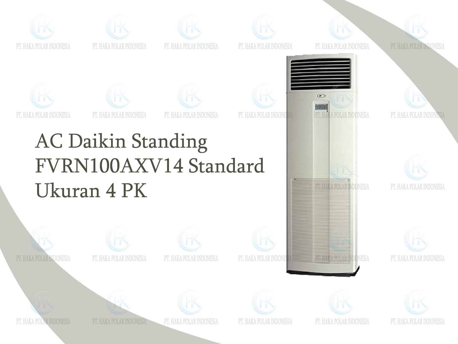 AC Daikin Mini Skyair FVRN100AXV14 4 PK Floor Standing Standard R410a