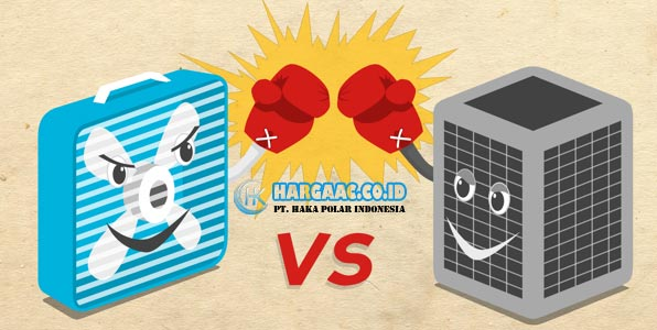Air Conditioning (AC) vs Kipas Angin