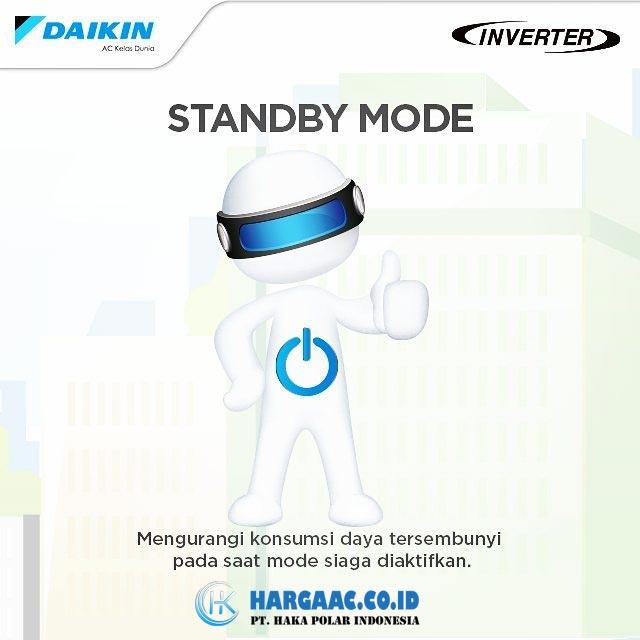 Kelebihan AC Daikin Inverter Fitur Standby Mode