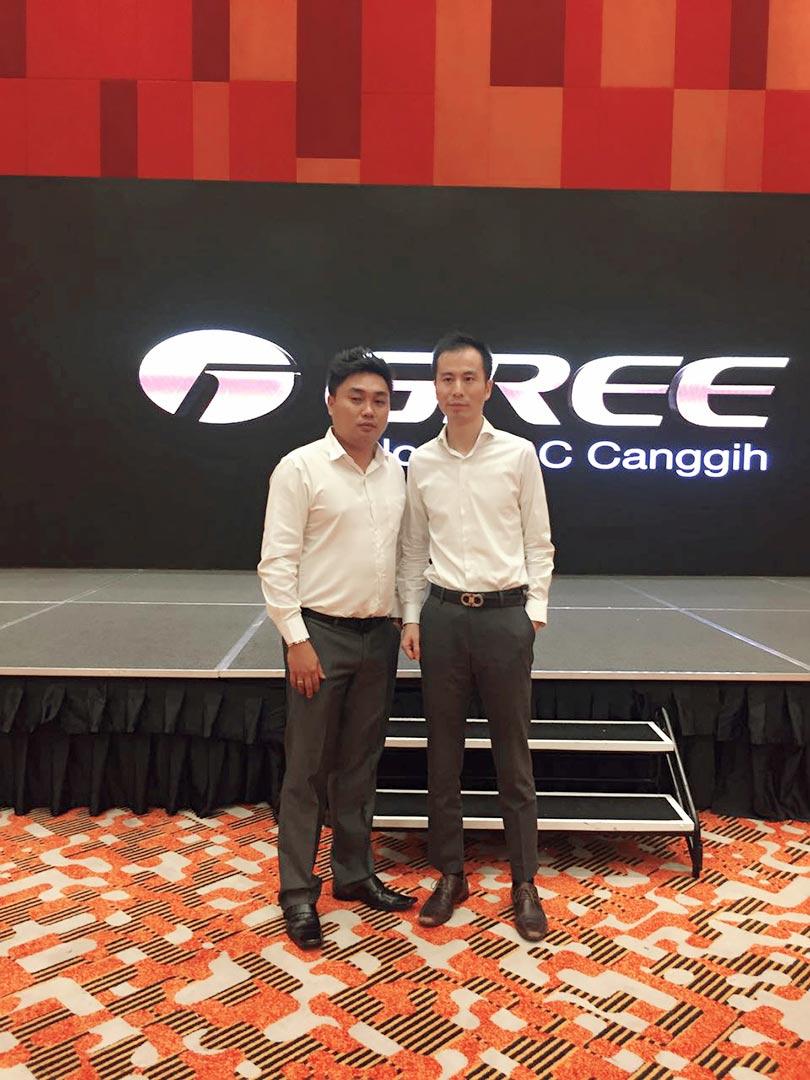 Gathering Gree - Bersama Ethan Wu (CEO Gree Indonesia)