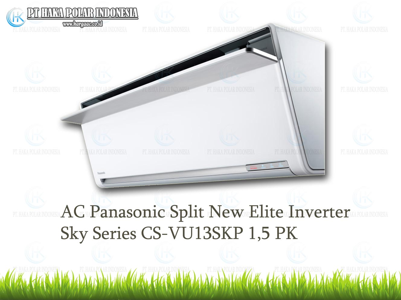AC Panasonic CS-VU13SKP 1,5 PK Split New Elite Inverter Sky Series Malaysia R32