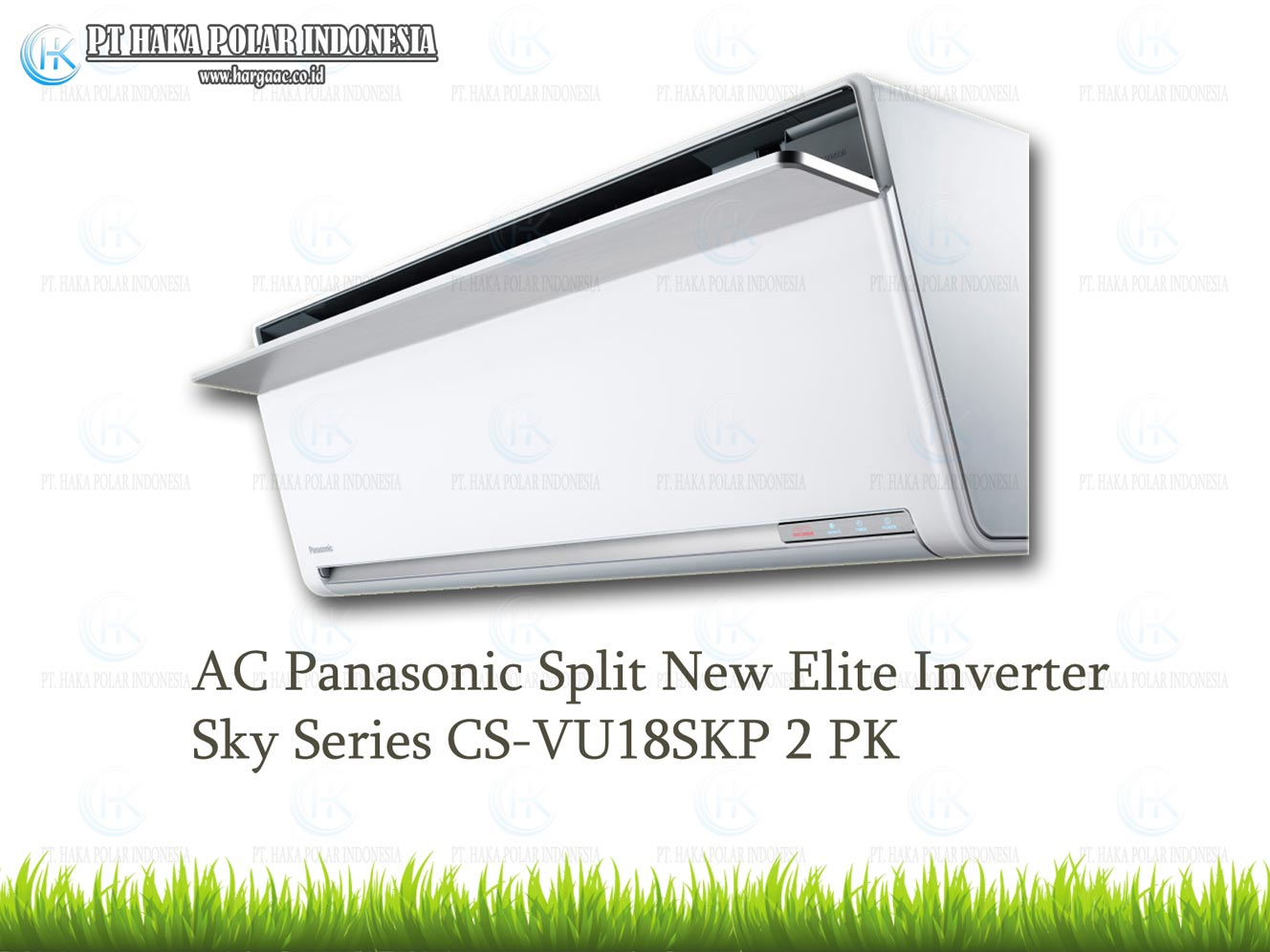 AC Panasonic CS-VU18SKP 2 PK Split New Elite Inverter Sky Series Malaysia R32