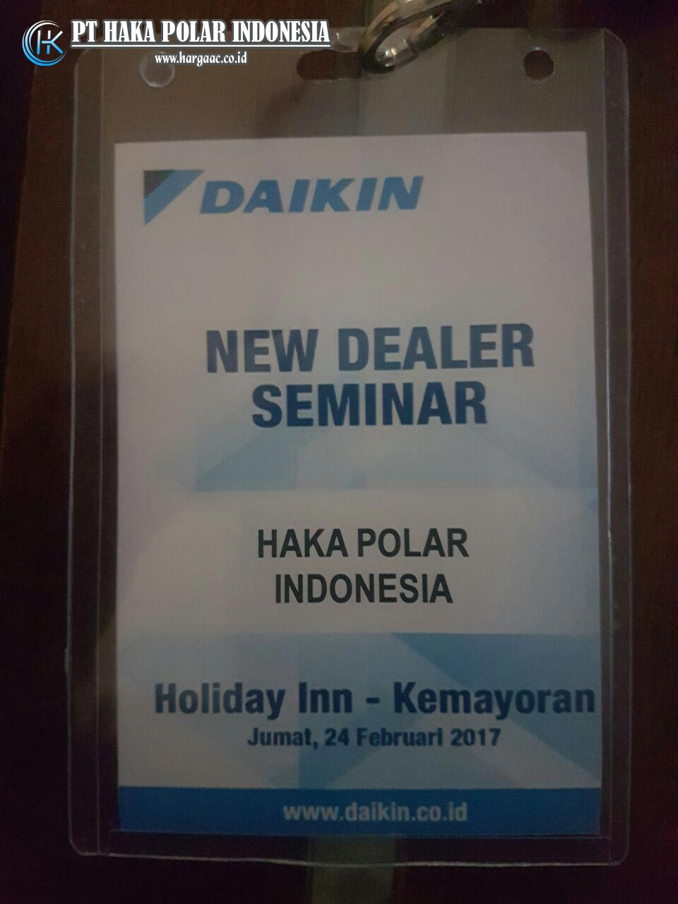 Daikin New Dealer Seminar 2017 di Holiday Inn