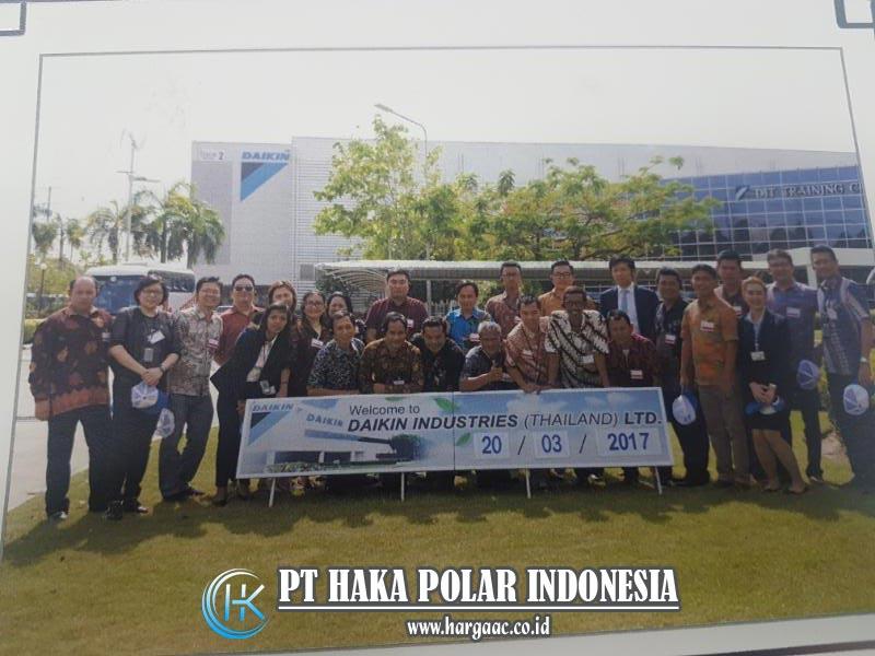 Kunjungan Haka Polar Indonesia ke Pabrik Daikin Thailand