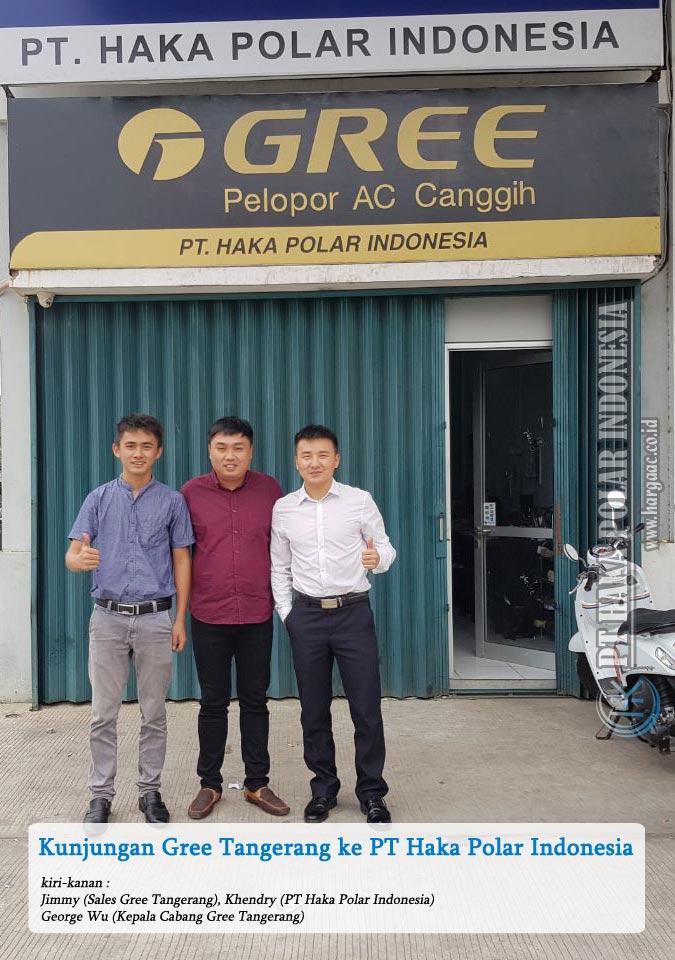 Kunjungan Gree (China) Tangerang ke PT Haka Polar Indonesia