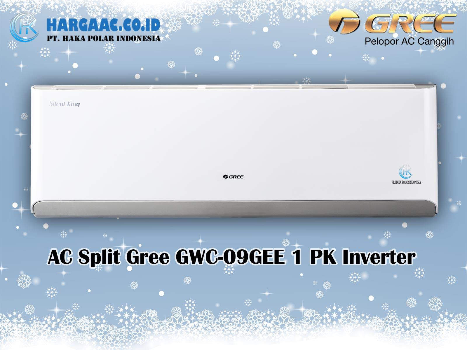 Harga Jual AC Split Gree GWC-09GEE 1 PK Inverter Silent King