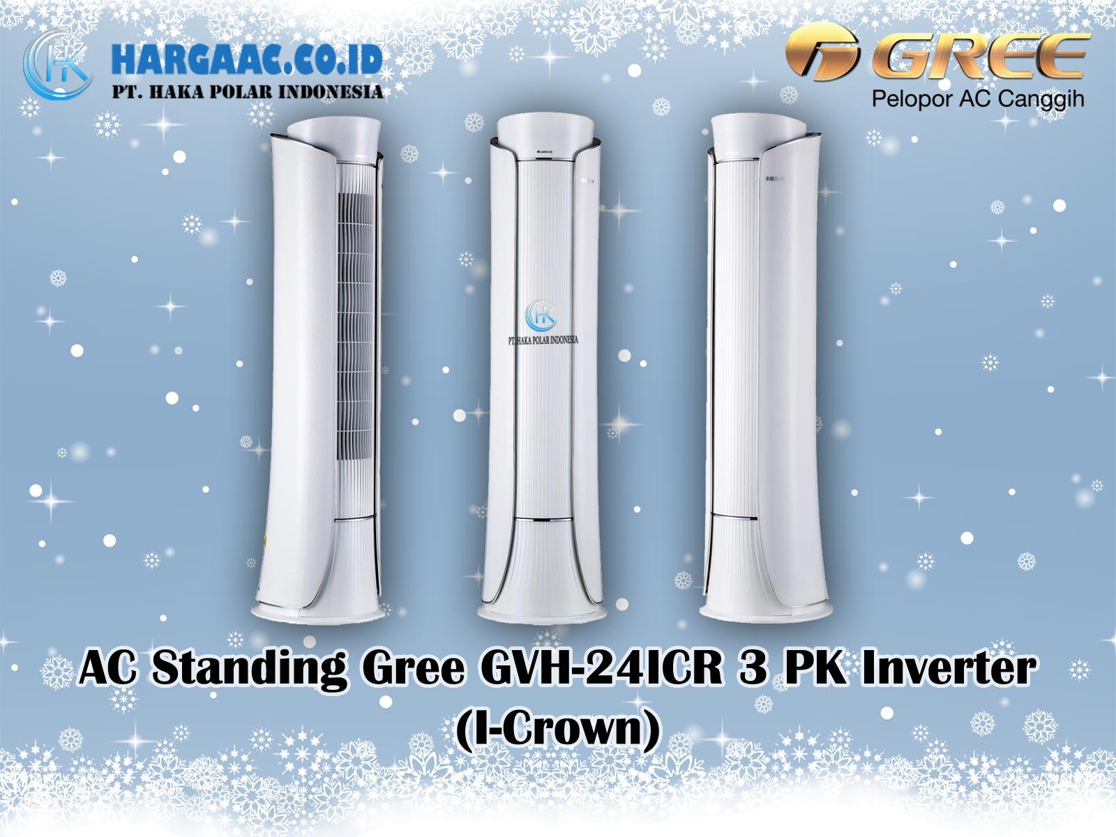 Harga Jual AC Standing Gree GVH-24ICR 3 PK Inverter (I-Crown)