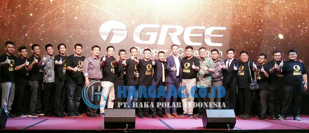 Launching AC Gree Terbaru