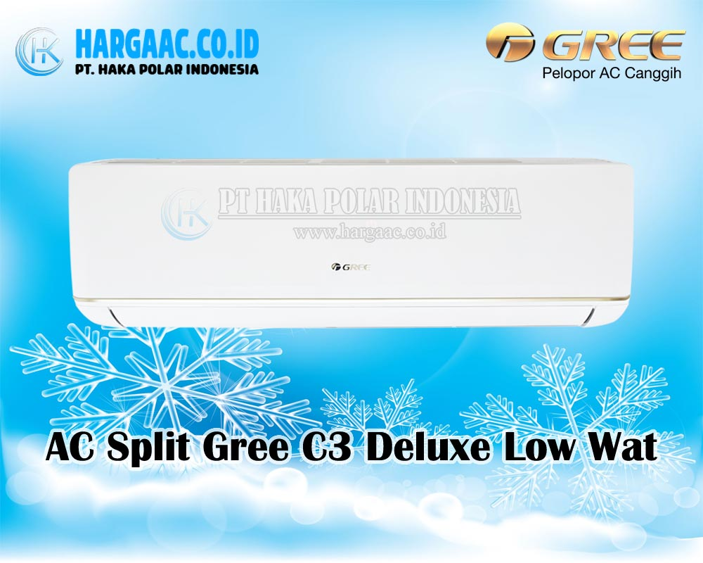 Jual AC Gree Split Deluxe Low Watt C3 Series