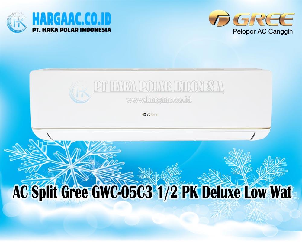 Harga Jual Ac 1 Pk Merk Gree Split Standard Gwc 2 12moo Putih 05c3 Deluxe Low Watt R32